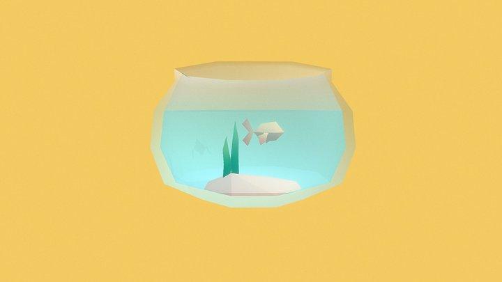 Fish Bowl - Household Props Challenge 3D Model
