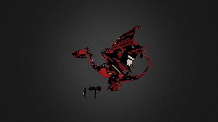 Smaug+axe+sword 3D Model
