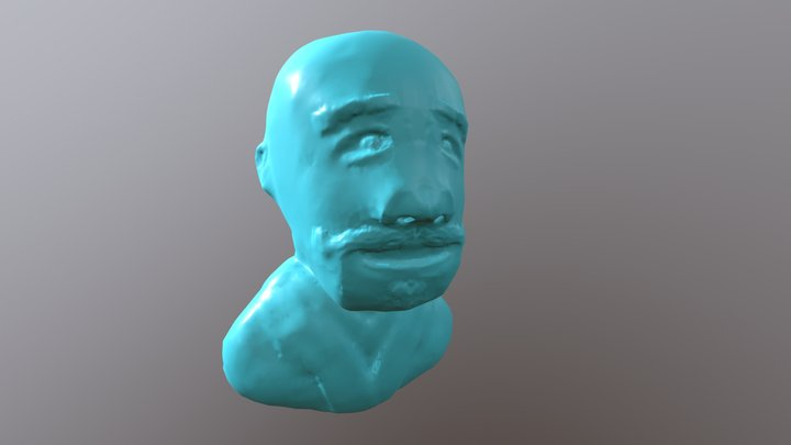 Robed Gentleman 3D Model