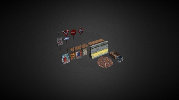 Various Assets 3D Model