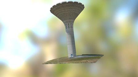Chateau d'eau 3D Model