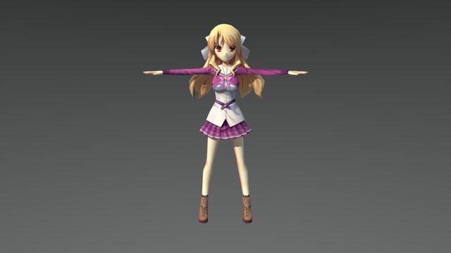 Girl1 3D Model