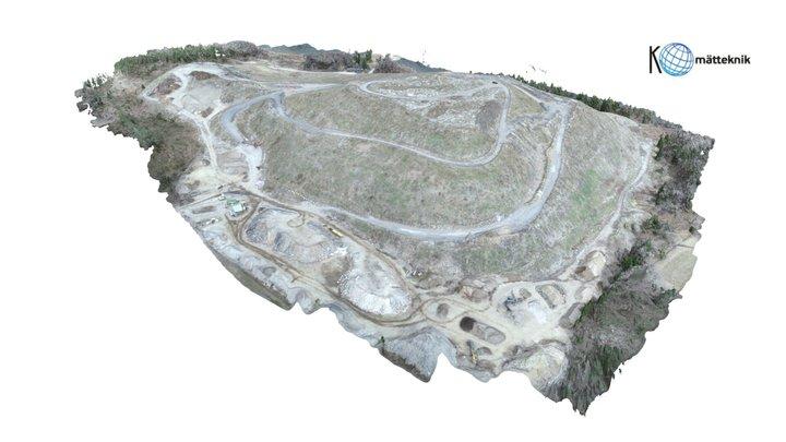 Old Landfill 3D Model