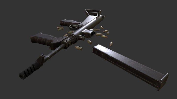 Day of Infamy - Owen Gun 3D Model