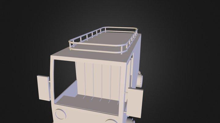 Camionetas 3D Model