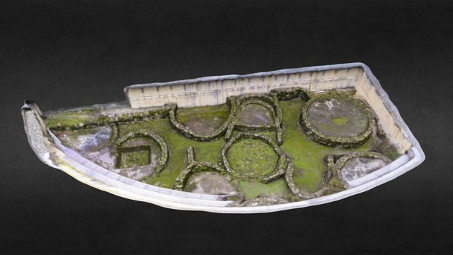 Castro da Punta do Muiño de Vento 3D Model