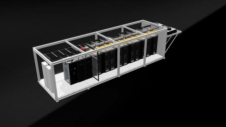 SmartMod - Tier III ready (EMEA) 3D Model