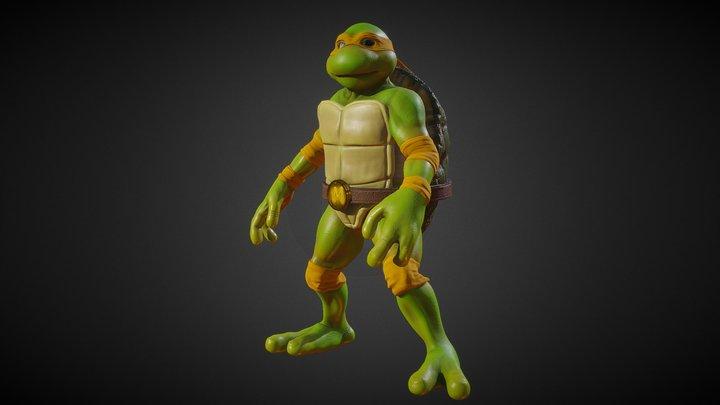 TMNT - Michelangelo 3D Model