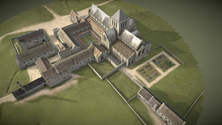 Bromholm Priory Reconstruction 3D Model