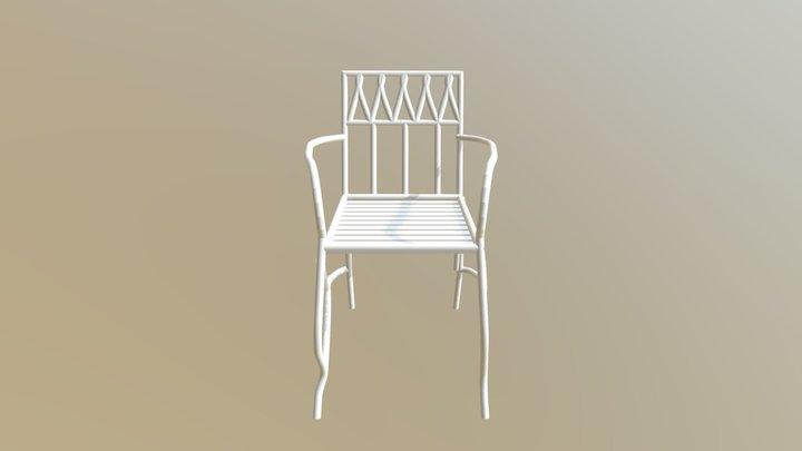 Fancy Chair 3D Model