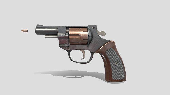 A pistol that fires 3D Model
