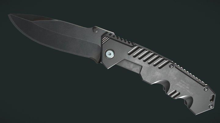 Cold steel Pocketknife 3D Model