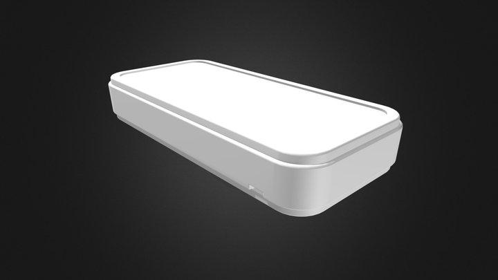 ポータブルプラスチックケース CS90-N(電池ボックス無し) 3D Model