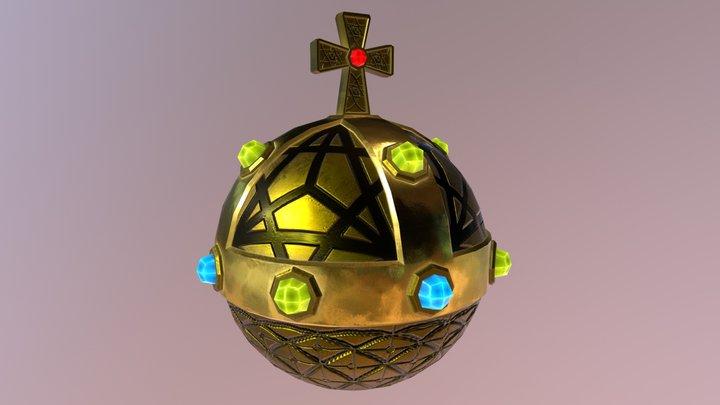 Holy Hand Grenade of Antioch 3D Model