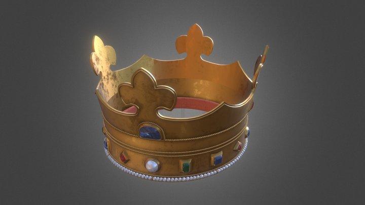 Корона короля Русі 3D Model