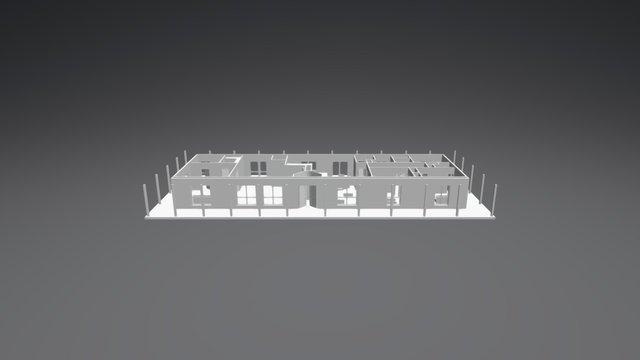 Roberts - Tasman - no roof 3D Model