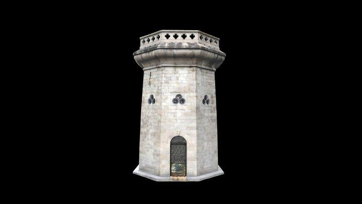 Moorish Tower 3D Model