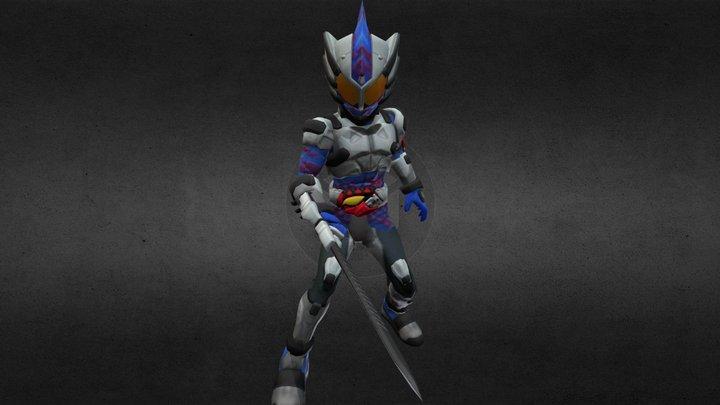 Kamen Rider Neo 3D Model