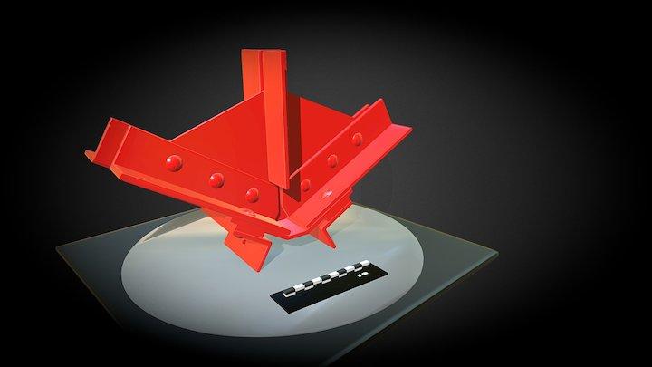NÓ DE ASNA METÁLICA (V) 3D Model