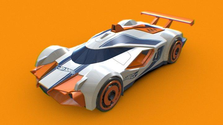 Mach Speeder 3D Model