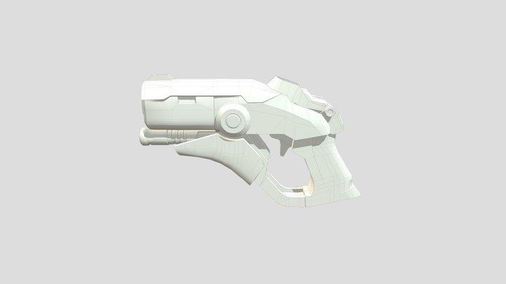 Mercy's Caduceus Blaster 3D Model
