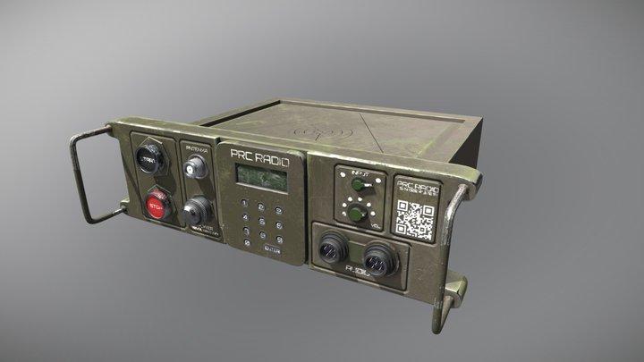 PRC Military Radio 3D Model