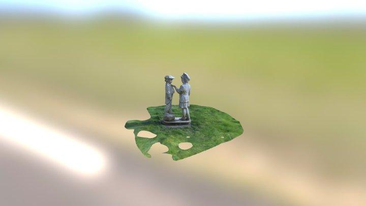 Statue01 3D Model