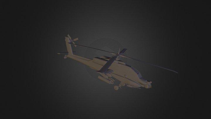 Apache 3DS 3D Model