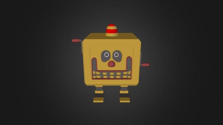 Boxman 3D Model