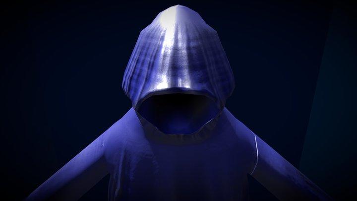 Cloaked Figure 3D Model