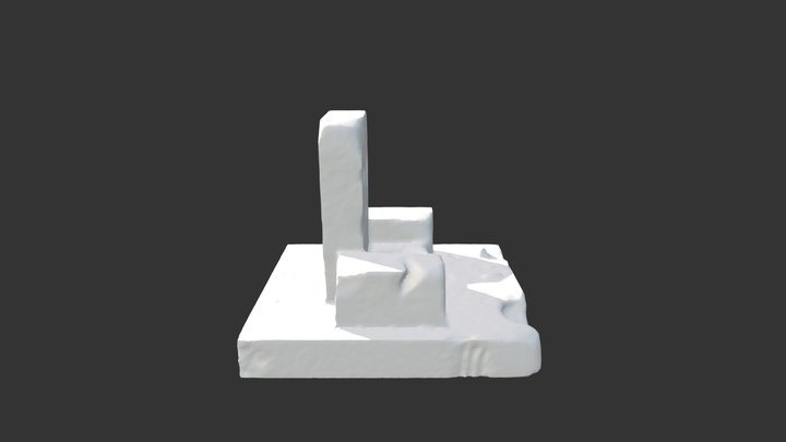 Trone test zbrush 3D Model