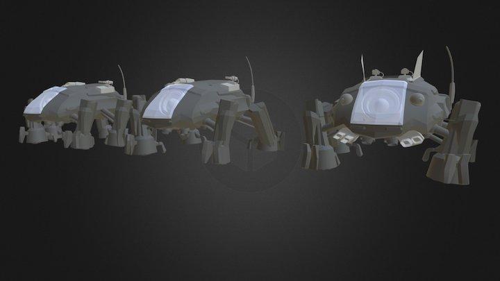 Mech Set 3D Model