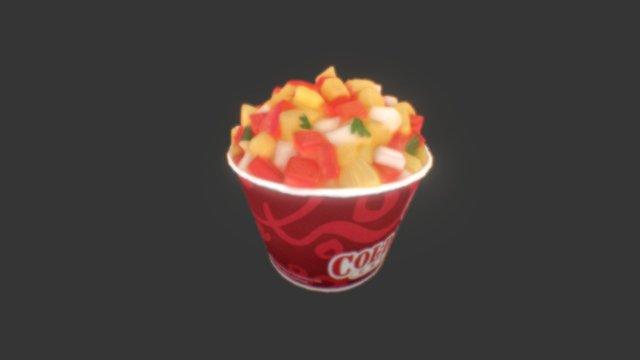 Photogrammetry Food 3D Model