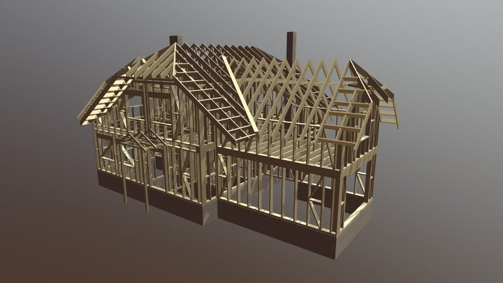 196m2 13700 Eur 3D Model