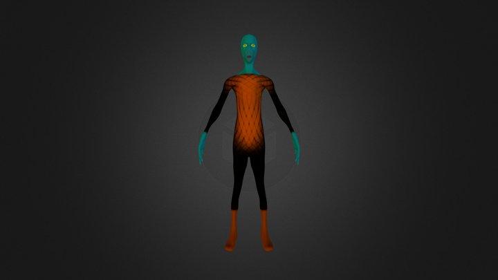 fbxuzayliarkedes.fbx 3D Model