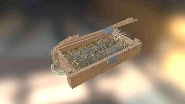 Ammobox Hay 3D Model