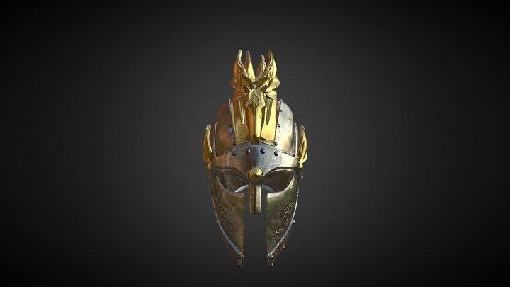 Fantasy Helmet 3D Model