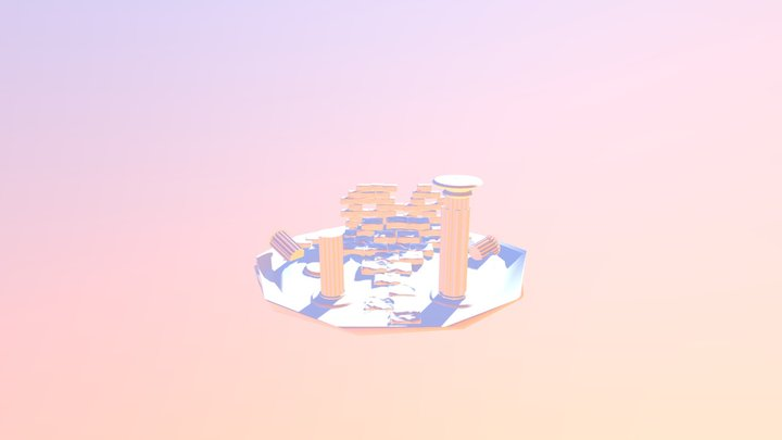 Ruinas Griegas 3D Model