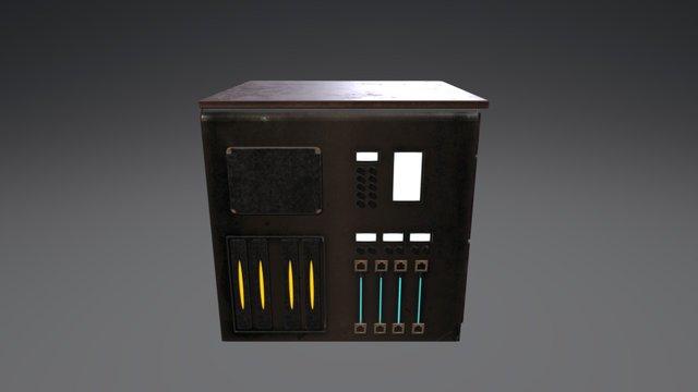 Cabinet Cyber 3D Model