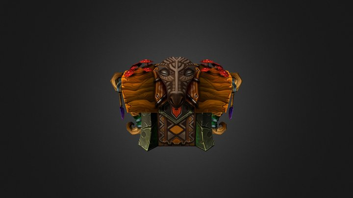 Giraelf chest 3D Model