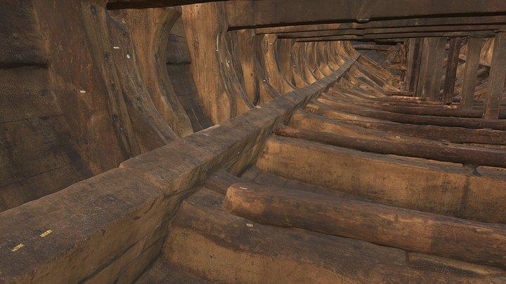 Vasa, the hold 3D Model