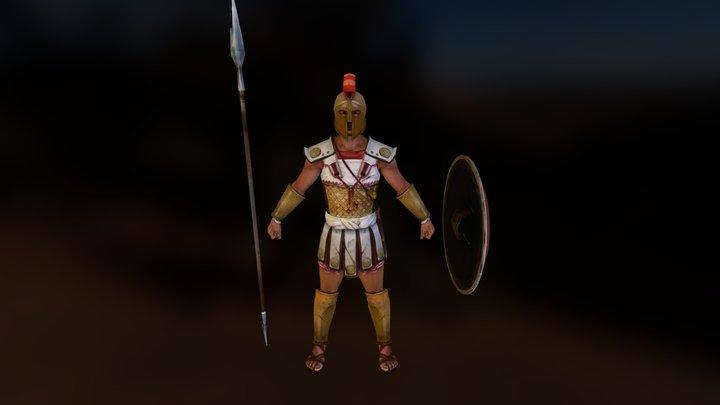 Greek Hoplite 3D Model