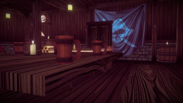 Pirate Room 3D Model