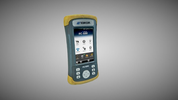 TOPCON FC-500 Field Controller (Low Quality) 3D Model