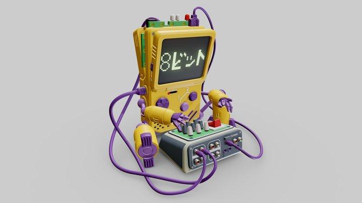 ChipBoy 3D Model