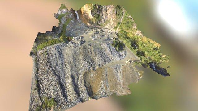 Steinbruch / Gravelpit St. Johann 3D Model