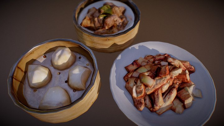 Chinesefood Package 1 3D Model