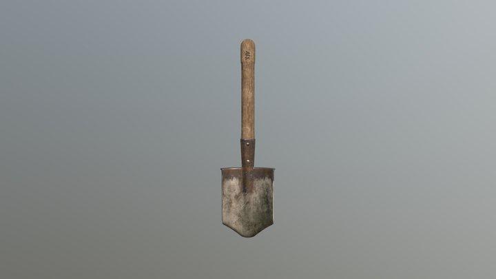 Sapper Shovel. 3D Model