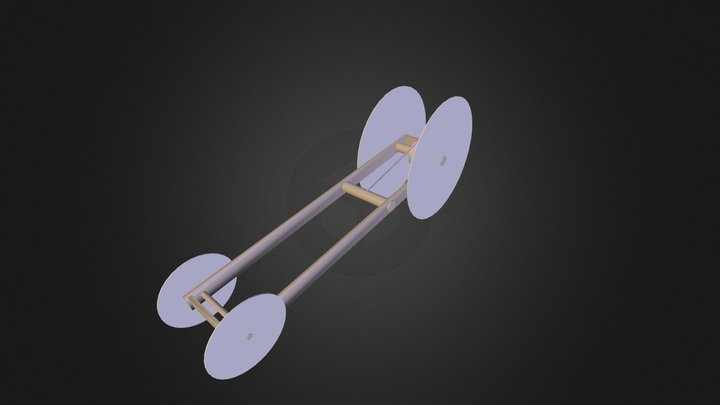 Physics Vehicle(Hayden Crocker) 3D Model