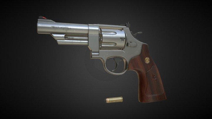 .44 Magnum 3D Model